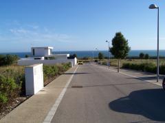 Parcela en Conil Sol con estupendas vistas, se ve el mar.